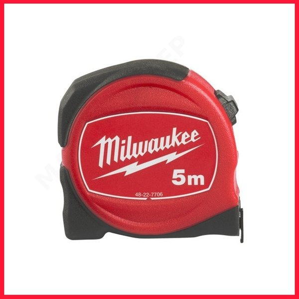 Milwaukee Ролетка Slimline 5 м x 25 мм