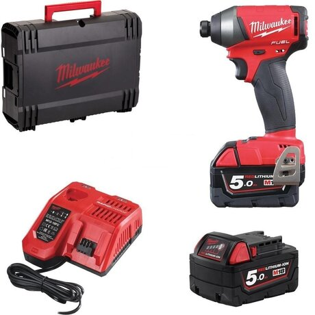 Milwaukee M18 FID2-502X Безчетков ударен винтоверт 18 V 226 Nm